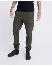 Superdry Recruit Flight Grip Trousers - Green