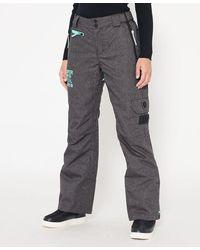 Superdry Pantalon Snow - Gris