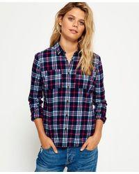 Superdry Lumberjack Shirt - Blue
