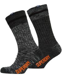 Superdry | Big Mountaineer Socks Double Pack | Lyst
