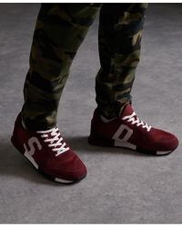 Superdry Retro Runner Trainers - Brown