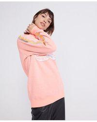 Superdry Hard Wearing Boutique Crew Sweatshirt - Pink