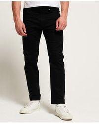 Superdry Daman Straight Jeans - Black