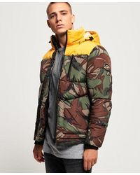 Superdry Sd Expedition Coat - Yellow