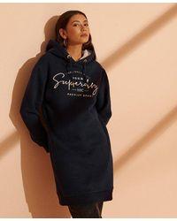 Superdry - Established Sweat Dress - Lyst
