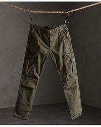 Superdry Core Parachute Cargo Pants - Green