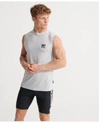 Superdry Training Flex Tank Top - Grey