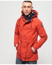 Superdry Parka Rookie Aviator - Naranja