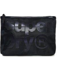 Superdry Mesh Cosmetic Bag - Black