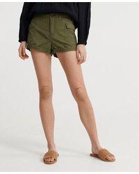Superdry Pantalones cortos cargo Utility - Verde