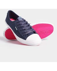 Superdry Low Pro Sneakers - Blue