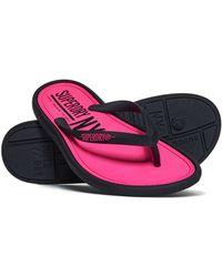 Superdry - Nyc Flip Flops - Lyst