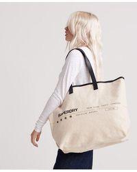 Superdry Portland Shopper Bag - Natural