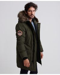 Superdry Parka Everest - Verde