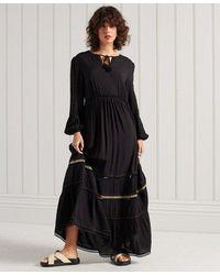 Superdry Ameera Maxi Dress - Black