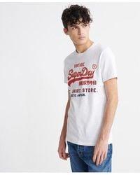 Superdry - Vintage Logo Fade T-shirt - Lyst