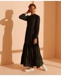Superdry Womens Skylar Maxi Dress Casual