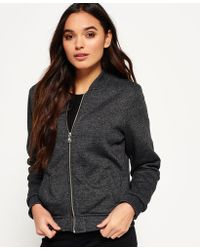 Superdry - Orange Label Micro Jersey Luxe Bomber - Lyst