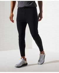 Superdry Sport Men's Training Slim Track Trousers - Black