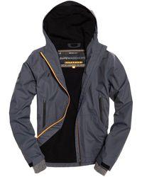 2fcbcfbe63 Superdry Elite Sports Logo Sweatshirt in Blue for Men - Lyst