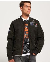 Superdry - Limited Issue Flight Bomber Jacket - Lyst