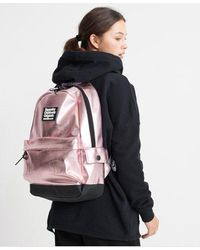 Superdry Disco Backpack - Pink