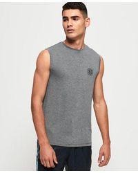 Superdry Camiseta de tirantes Active Flex - Gris