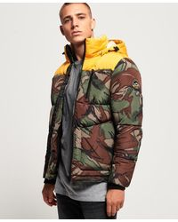 Superdry Sd Expedition Jas - Geel