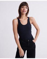 Superdry Elastic Bodysuit - Blue