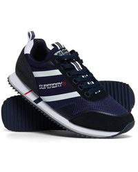Superdry Fero Runner Trainers - Blue