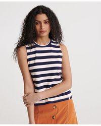 Superdry Summer Stripe Vest - Multicolour