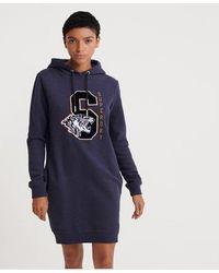 Superdry Hilary Sport Sweat Dress - Blue