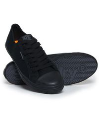 Superdry Low Pro Trainers - Black