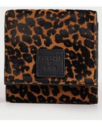 Superdry Small Fold Purse - Green