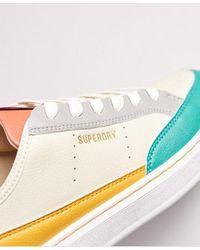 Superdry Vegan Basket Lux Low Sneakers - Yellow