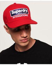 Superdry International B-boy Pet - Rood