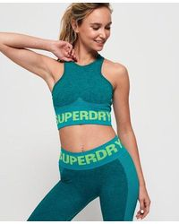 Superdry - Active Seamless Bra - Lyst