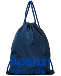 Superdry Drawstring Sports Bag - Blue