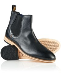 Superdry - Meteora Chelsea Leather Boots - Lyst
