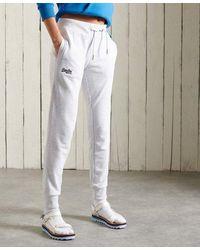 Superdry Joggers de rizo de algodón de la colección Orange Label - Multicolor
