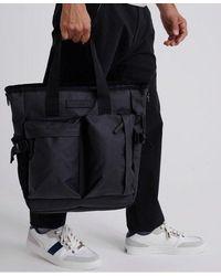 Superdry Commuter Tarp Tote Bag - Black