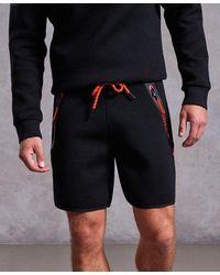 Superdry Gym Tech Stretch Shorts - Black