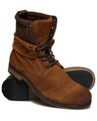 Superdry - Trawler Mid Boots - Lyst