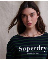 Superdry Jaden Long Sleeved Top - Multicolour