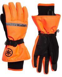 Superdry Ultimate Snow Service Handschoenen - Oranje