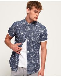 Superdry - Poolside Short Sleeve Shirt - Lyst