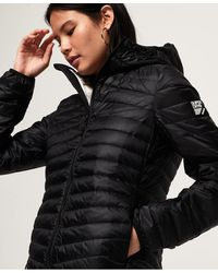 Superdry Hyper Core Down Jacket - Black