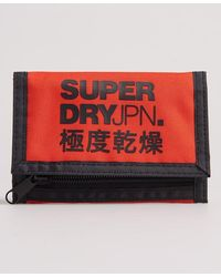 Superdry Tri-fold Logo Portemonnee - Oranje