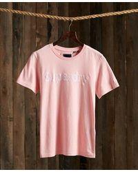 Superdry - Flock T-shirt - Lyst