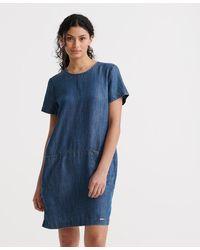 Superdry Desert Dress - Blue